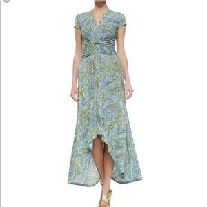 Michael Kors Ashbury Paisley wrap dress size 18
